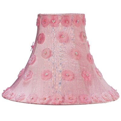 10.25 Silk Bell Lamp Shade Color: Pink