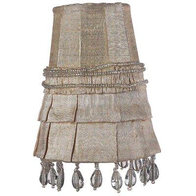 3.25 Silk Bell Candelabra Shade (Set of 2) Color: Ivory