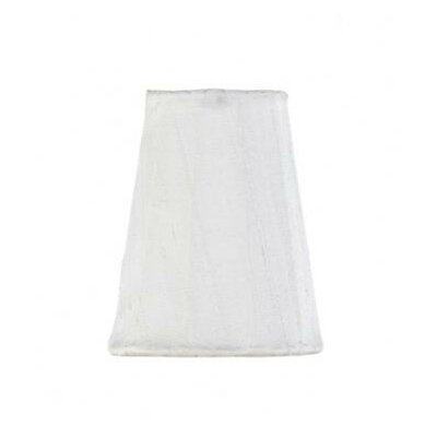 3.25 Silk Empire Candelabra Shade (Set of 3) Color: White