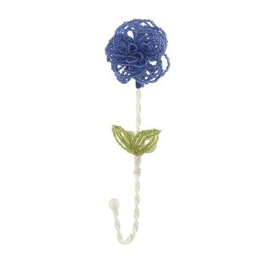 Beaded Flower Clothes Hook (Set of 4) 8261