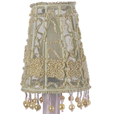 Flower 4 Tulle Empire Candelabra Shade (Set of 2)
