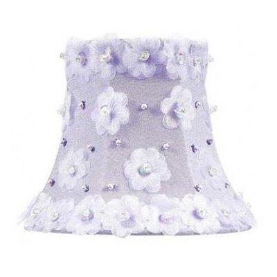 5 Bell Candelabra Shade (Set of 2) Color: Lavender