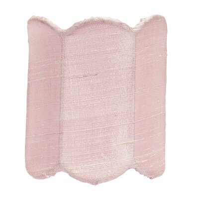 4 Silk Drum Candelabra Shade Color: Pink