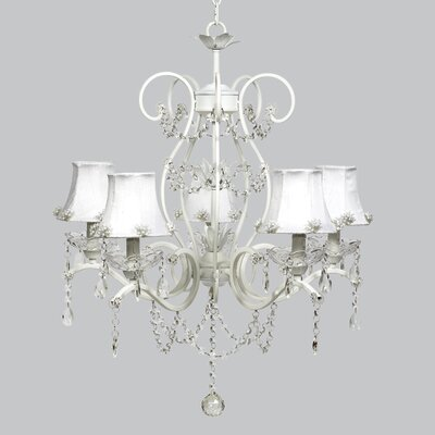Grace 5-Light Crystal Chandelier