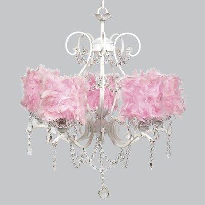 Grace 5-Light Crystal Chandelier