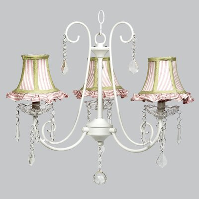 Bliss 3-Light Shaded Chandelier