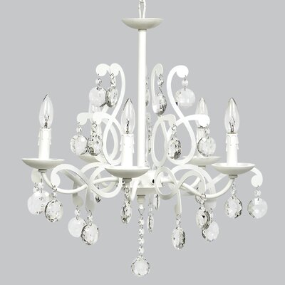 Elegance 5-Light Crystal Chandelier