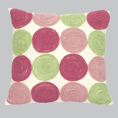 9 Circles Throw Pillow