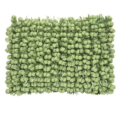 Funberry Throw Pillow Color: Green