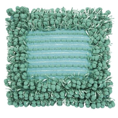 Funberry Throw Pillow Color: Turquoise