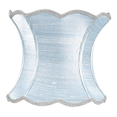 13 Silk Novelty Lamp Shade Color: Ice Blue