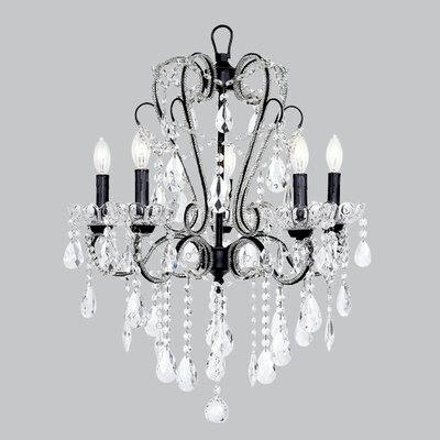 Carousel 5-Light Crystal Chandelier