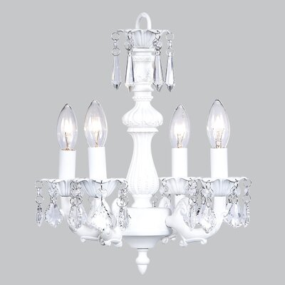Fountain 4-Light Candle-Style Chandelier