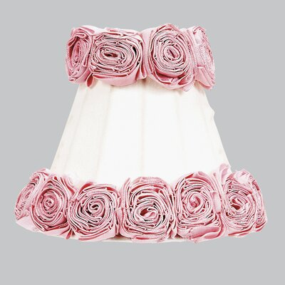 Ring of Roses 3 Cotton Bell Candelabra Shade