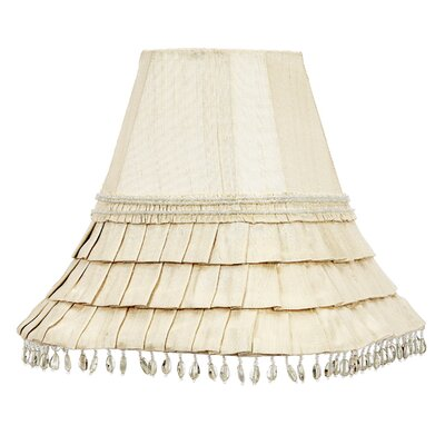 10.5 Bell Lamp Shade Color: Ivory