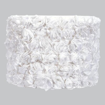 12 Drum Lamp Shade Color: White