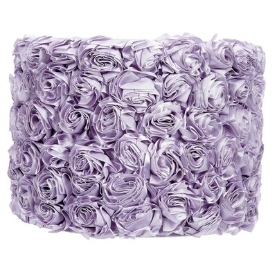 12 Drum Lamp Shade Color: Lavender