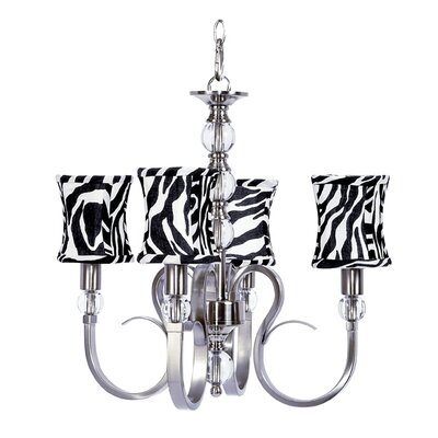 Hampton 4-Light Shaded Chandelier