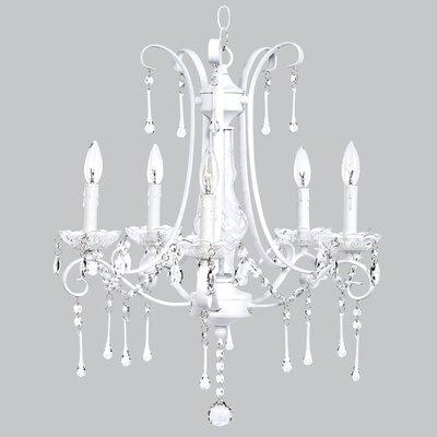 Colleen 5-Light Crystal Chandelier