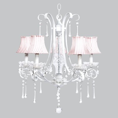 Colleen 5-Light Crystal Chandelier