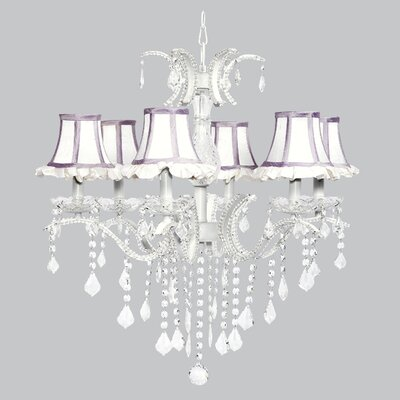 Glitz 6-Light Crystal Chandelier