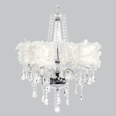Middleton 4-Light Shaded Chandelier