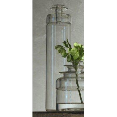 "Kado Vase Size: 14.8""H x 3.5"" (3 graduated lids)"
