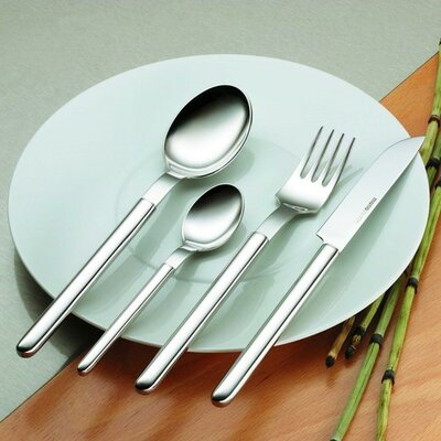 Mono-mono Oval Flatware With Table Knife (set Of 20) By Peter Raacke
