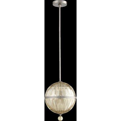Globe Pendant Size: 17.5 H x 12.75 W x 10 D