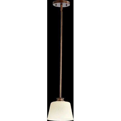 Friedman 1-Light Mini Pendant Finish: Oiled Bronze