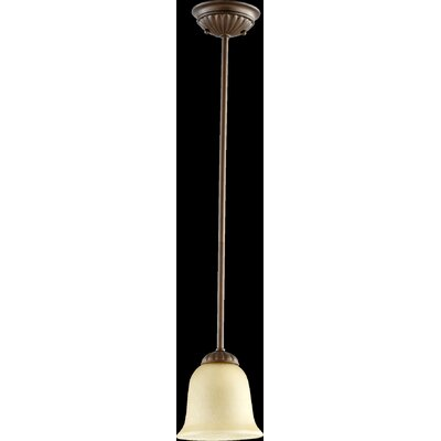 Tribeca 1-Light Mini Pendant Finish: Oiled Bronze
