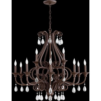 Anders 12-Light Candle-Style Chandelier