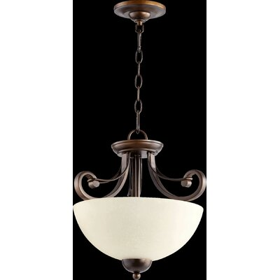 Lariat 2-Light Inverted Pendant