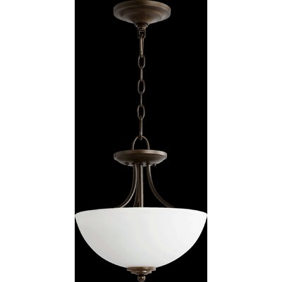 Brooks 2-Light Inverted Pendant
