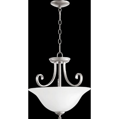 Celesta 2-Light Pendant Finish: Classic Nickel