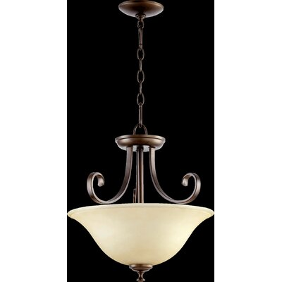 Celesta 2-Light Pendant Finish: Oiled Bronze
