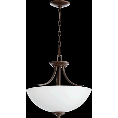 Reyes 3-Light Pendant Finish: Oiled Bronze