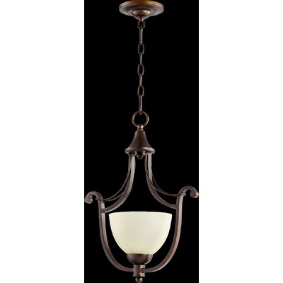 Lariat 1-Light Mini Foyer Pendant