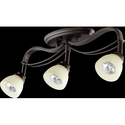 Lariat 3-Light Semi Flush Mount
