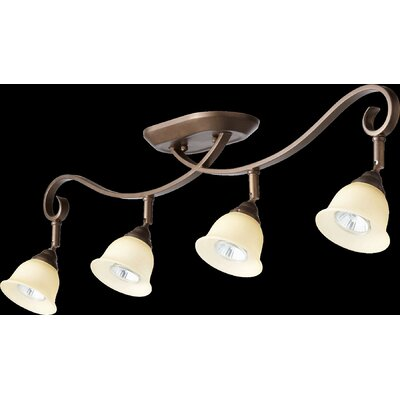 Celesta 4-Light Semi Flush Mount Finish: Oiled Bronze