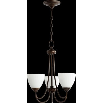 Brooks 3-Light Shaded Chandelier