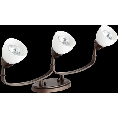 Reyes 3-Light Semi Flush Mount Finish: Oiled Bronze
