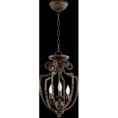 Tribeca 3-Light Dual Mount Pendant Finish: Oiled Bronze