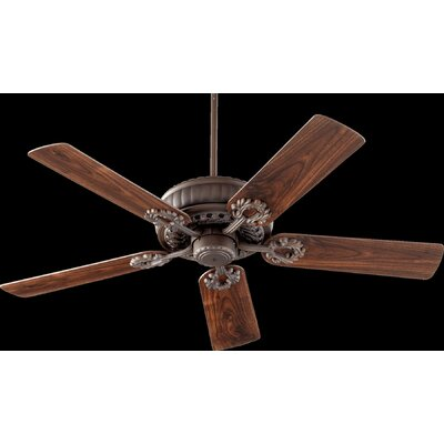 52 Empress 5-Blade Ceiling Fan Finish: Oiled Bronze