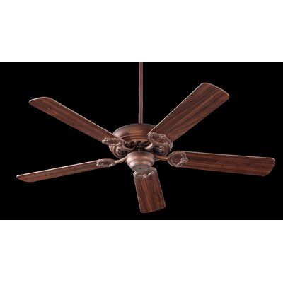 52 Deweese Antik 5-Blade Ceiling Fan Finish: Corsican Gold with Dark Oak/Walnut Blades