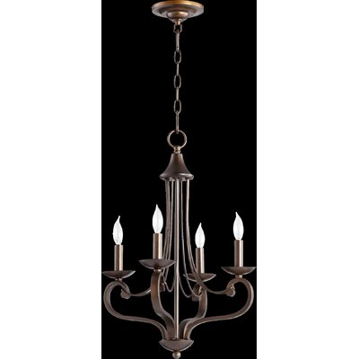 Lariat 4-Light Candle-Style Chandelier