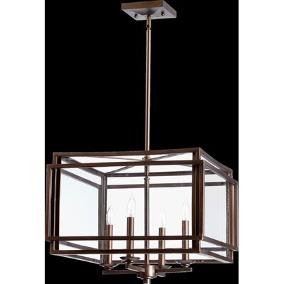 Politte 4-Light Foyer Pendant