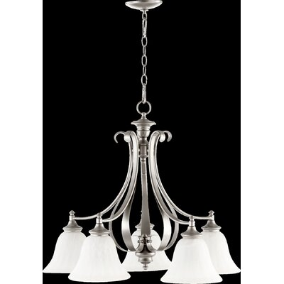 Randolph 5-Light Shaded Chandelier