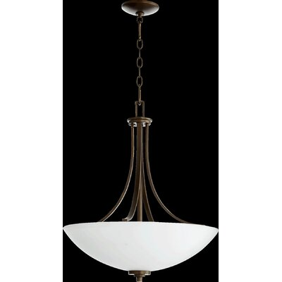 Reyes 4-Light Pendant Finish: Oiled Bronze