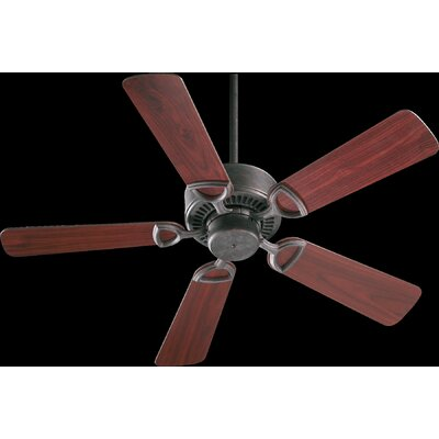 42 Estate 5-Blade Ceiling Fan Finish: Toasted Sienna with Rosewood/Walnut Blades